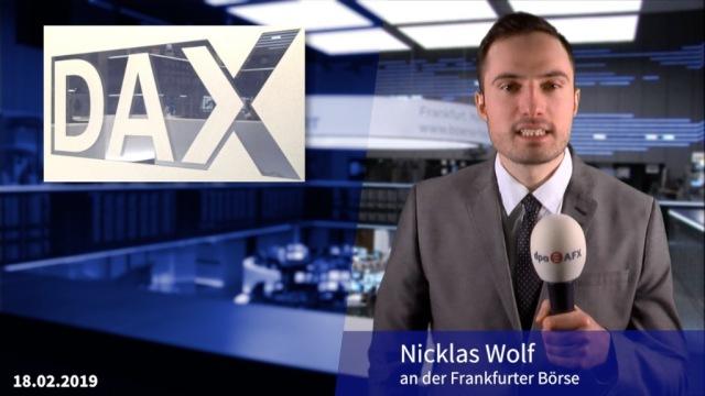 Dax startet leichter in die neue Woche - Wirecard stark, Autowerte schwach