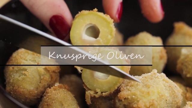 Knusprige Oliven
