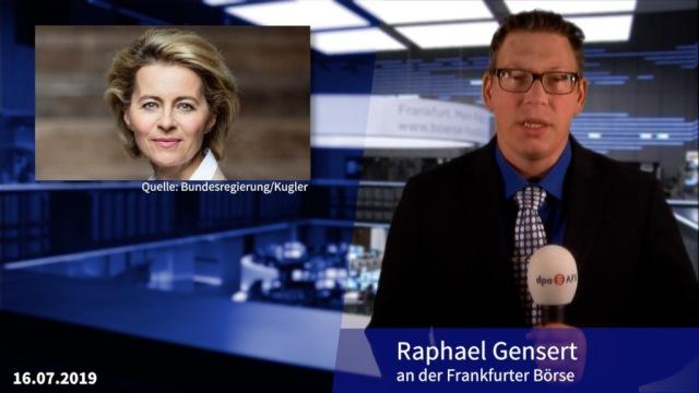 Von der Leyen steht zur Wahl - Strafe gegen Bayer reduziert