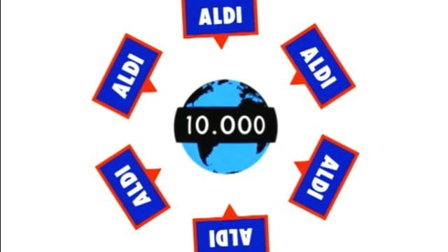 Aldi in Zahlen - Weltweit