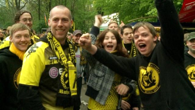 Die Fans von Borussia Dortmund