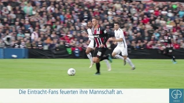 FC Gießen gewinnt gegen die Eintracht Frankfurt