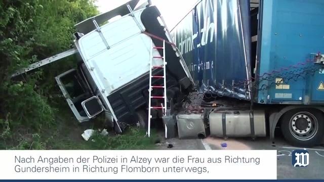 Tödlicher Unfall bei Gundersheim