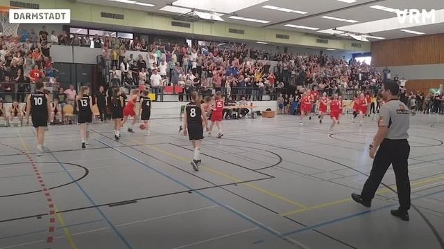U14-Basketballerinnen gewinnen deutschen Meister