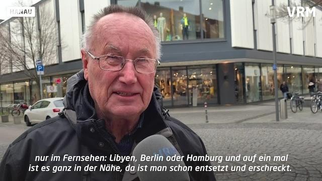 Nach Terroranschlag in Hanau: Umfrage unter Anwohnern