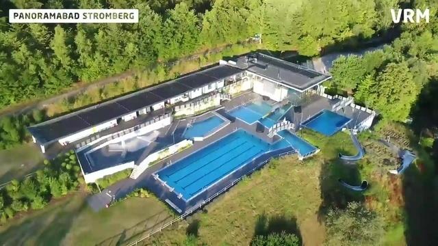 Schwimmbäder von oben ? Badespaß im Landkreis Bad Kreuznach aus der Drohnenperspektive