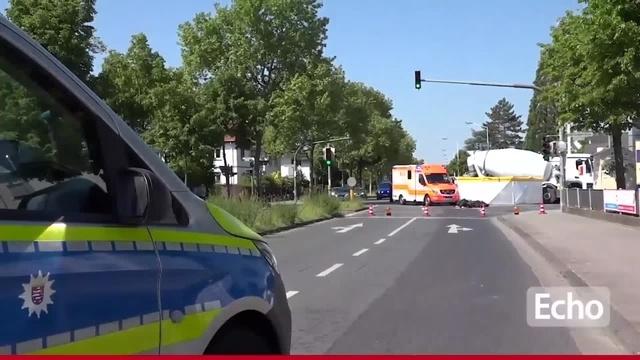 Motorradfahrer verunglückt in Eberstadt tödlich