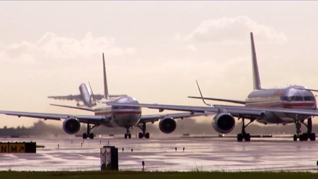 Ein Tag am Airport Miami