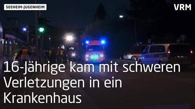 Seeheim-Jugenheim: Straßenbahn erfasst Radfahrer