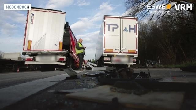 Lkw-Unfall auf A3