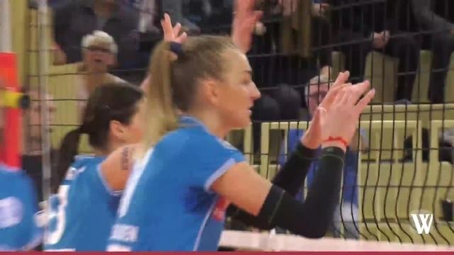 VC Wiesbaden besiegt im Heimspiel Schweriner SC