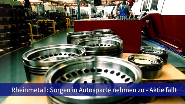 Aktie im Fokus: Rheinmetall sinkt nach Umsatzwarnung