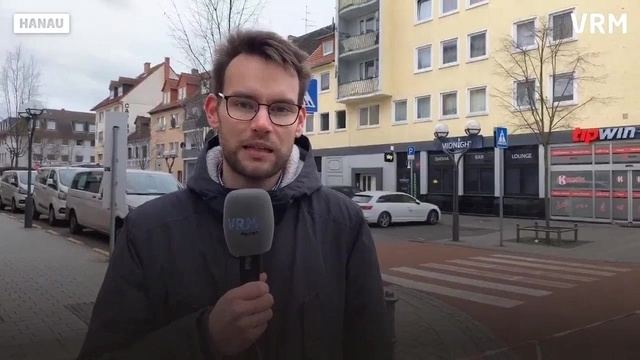 Live vom ersten Tatort in Hanau