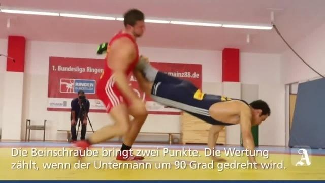 Ringer-ABC: Die Beinschraube