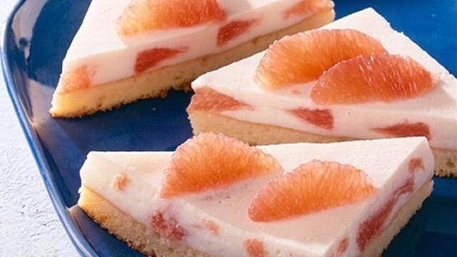 Kefir-Grapefruit-Schnitten