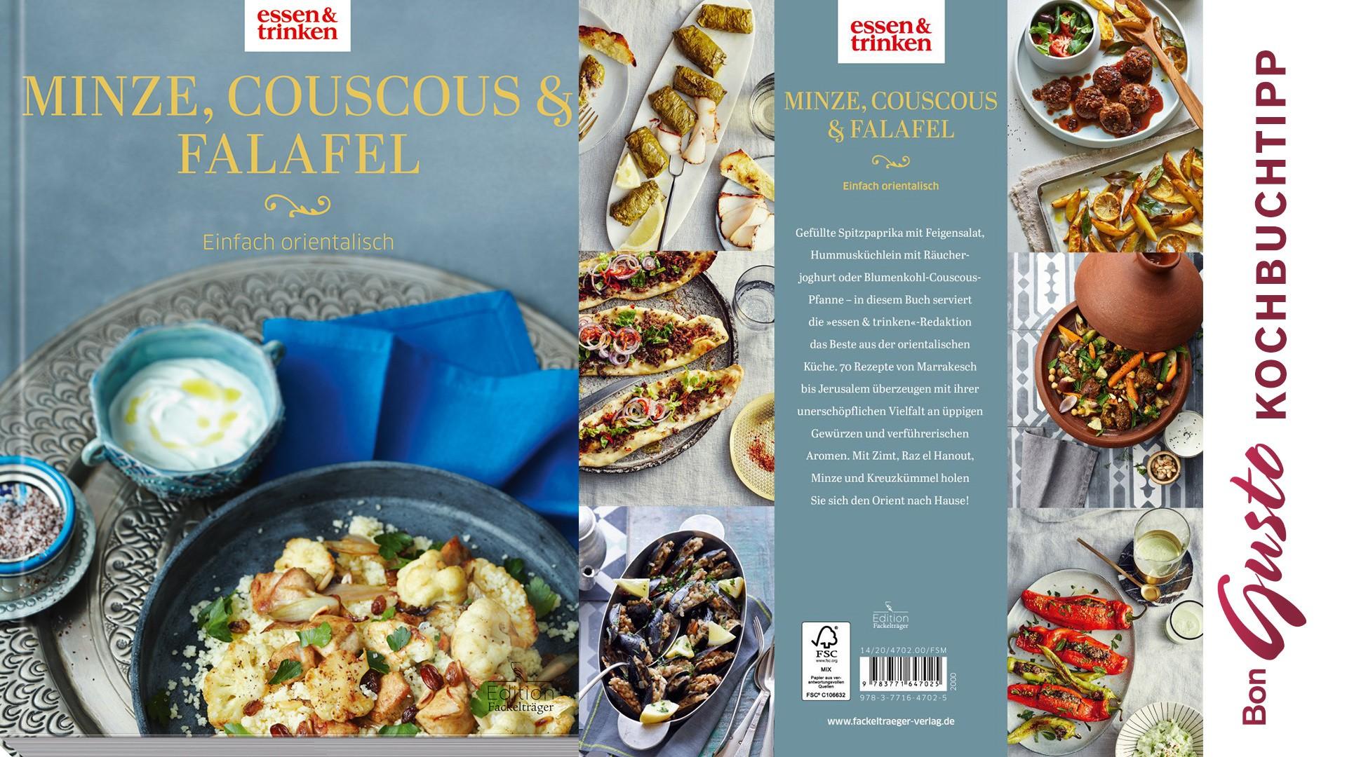 BonGusto Kochbuchtipp: Minze, Couscous & Falafel