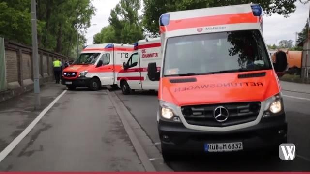 Verletzte bei Unfall auf Wiesbadener Landstraße