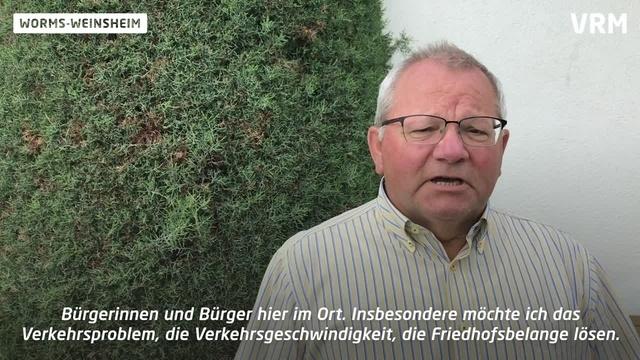 Weinsheim: Sie wollen Ortsvorsteher werden