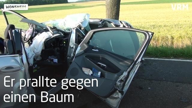 Schwerer Unfall auf L409 bei Wonsheim