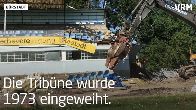 VfR Bürstadt: Tradition muss dem Fortschritt weichen