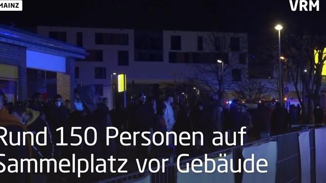 Wohnungsbrand in Hochhaus in der Mainzer Oberstadt