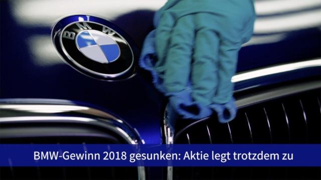 Aktie im Fokus: BMW übertrifft Erwartungen trotz Gewinnrückgangs
