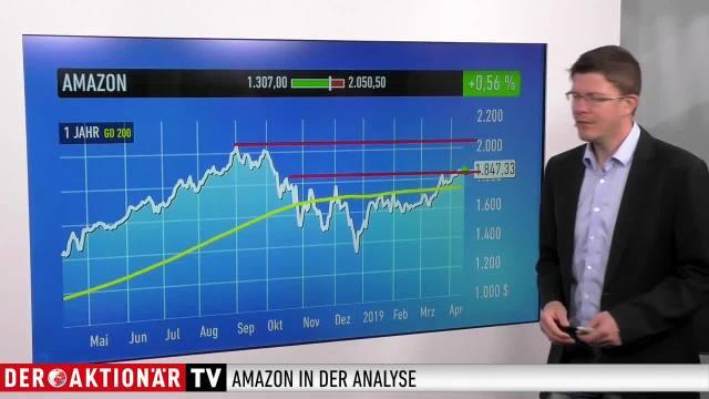 Trading-Tipp: Amazon - weitere Kursgewinne sind programmiert