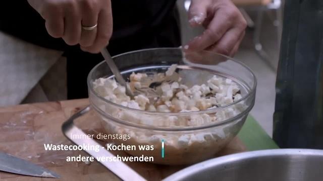 Wastecooking - Kochen was andere verschwenden