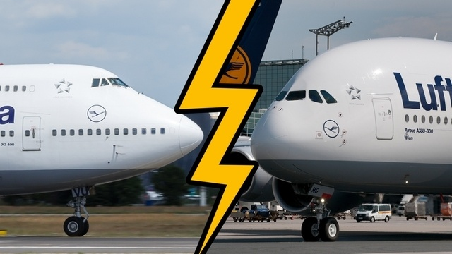 Boeing 747 vs. Airbus A380