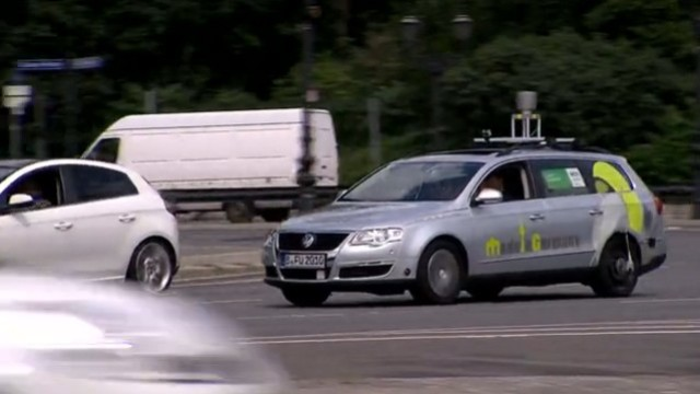 Roboter-Auto