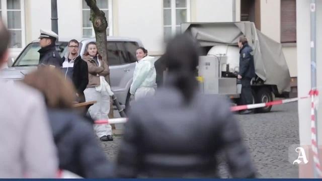 Mainz: Evakuierung in der Heiliggrabgasse