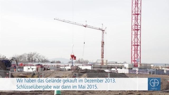 Entwicklung des US-Depots in Gießen