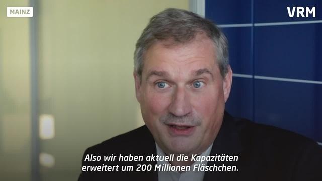 Mainzer Schott AG stellt Fläschchen für Corona-Impfstoff her