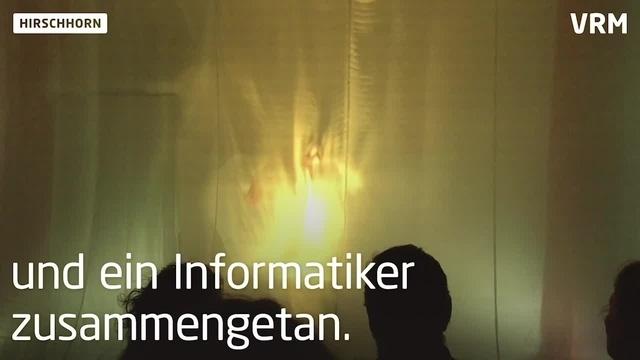 Neuartige Lichtorgel in Hirschhorn