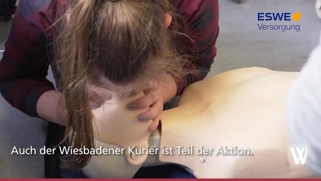Wiesbaden: Nicht nur Erwachsene können helfen