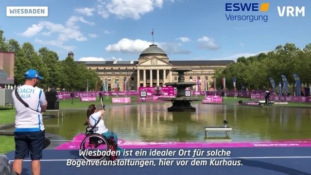 Bogenschießen: Para-Europacup-Finale in Wiesbaden