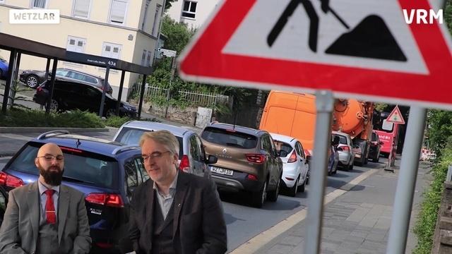 2019 in Wetzlar - Satire-Rückblick: Baustellen