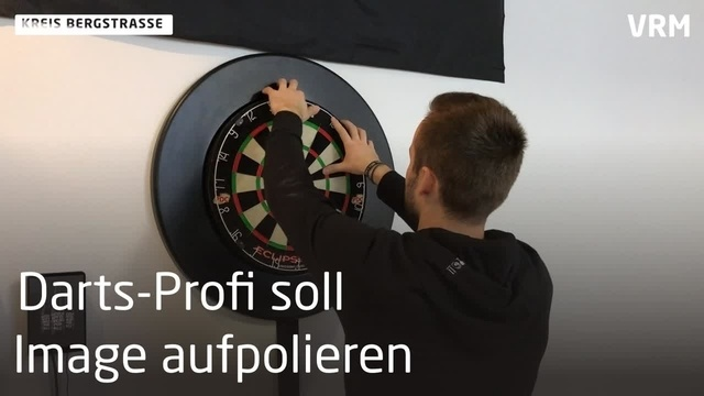 Bembel with Care sponsert Dart-Profi Max Hopp