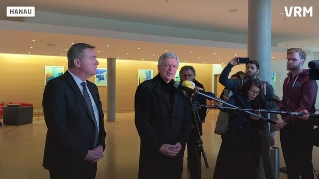 Bouffier und Kaminsky zu Terroranschlag in Hanau