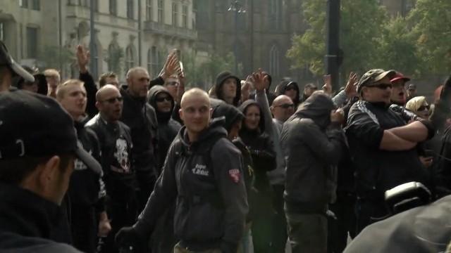 Gestörte Neonazi-Demos
