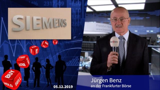 Analyser to go: Siemens aus zyklischen Gründen herabgestuft