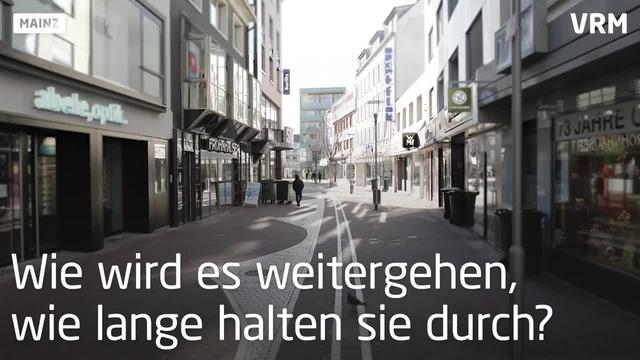 Die Mainzer Innenstadt in Zeiten von Corona