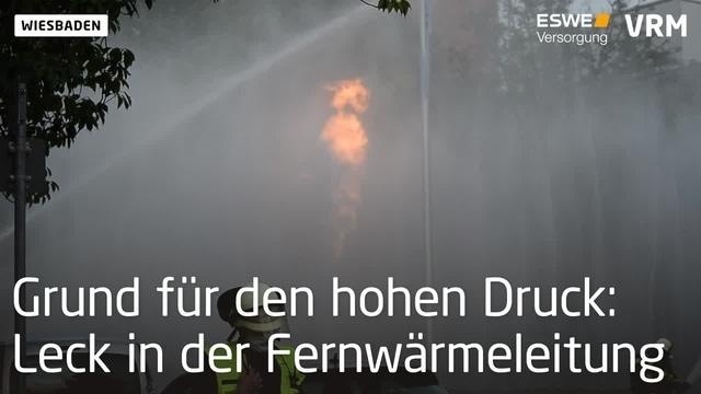 Gasaustritt in Wiesbadener Behördenviertel