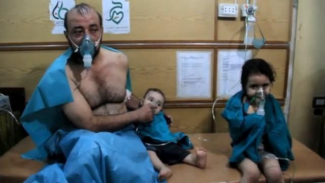 Chlorgasangriff auf Aleppo?