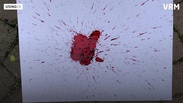 Die Tatortleserin: Silke Brodbeck analysiert Blutspuren