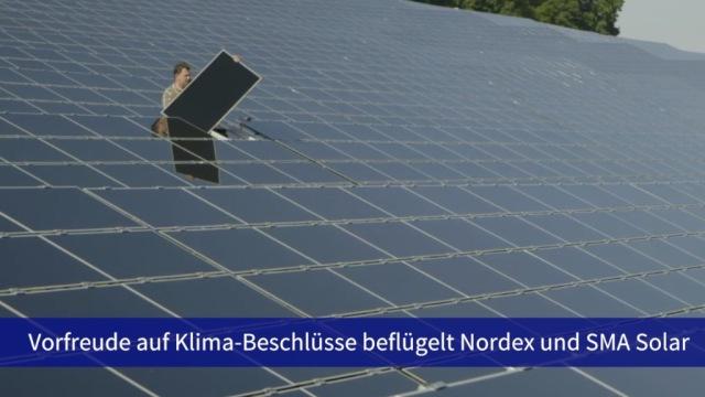 Aktie im Fokus: Klimadebatte beflügelt Nordex und SMA Solar