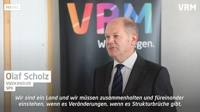 Olaf Scholz zur deutschen Einheit – und den Kosten