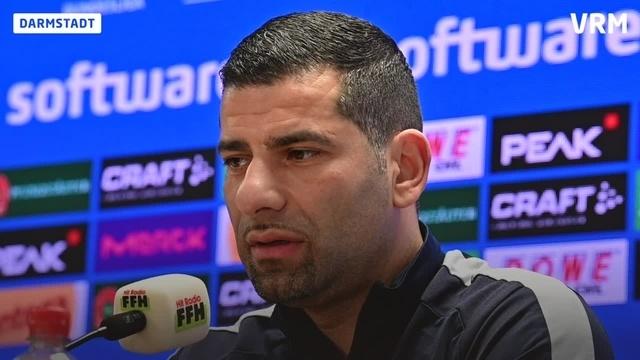 Pressekonferenz zum Spiel gegen den 1. FC Nürnberg