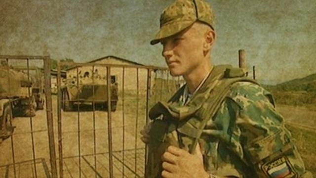 Russische Soldaten im Kosovo