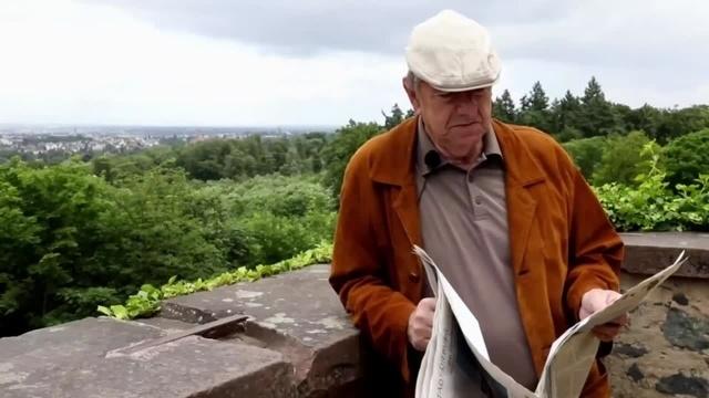 Der Breeweldibbe: Charly Landzettel auf der Ludwigshöhe